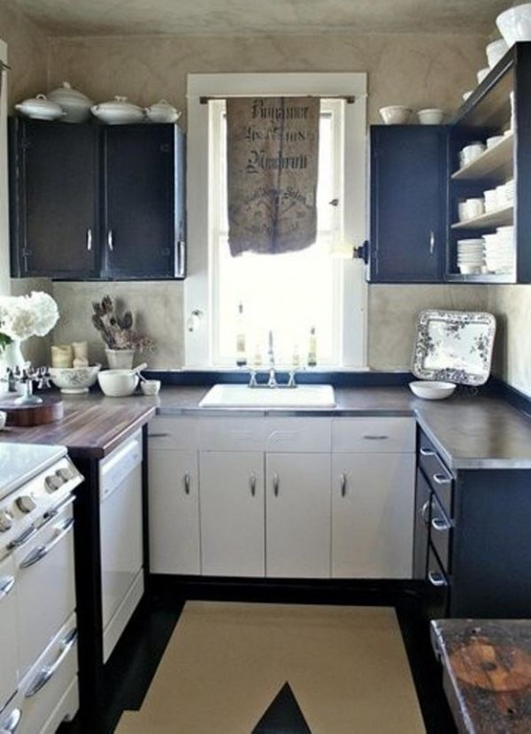 31 Creative Small Kitchen Design Ideas on Small Kitchen Remodel  id=75661
