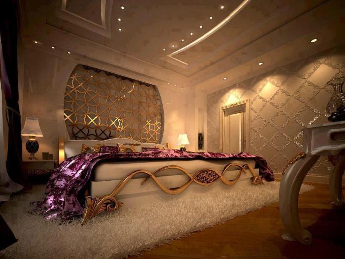 Elegant Romatic Bedroom Design