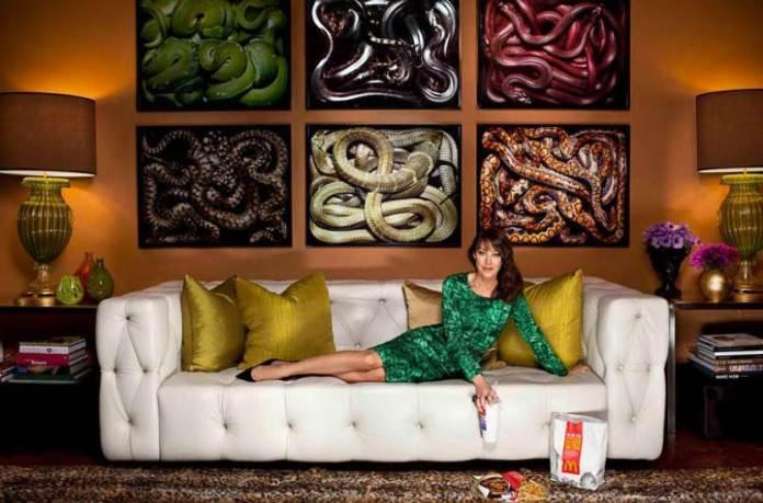 Snake Wall Art Living Room