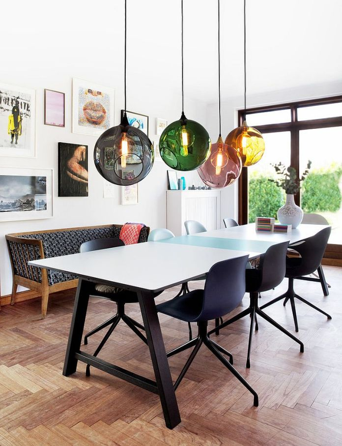Stunning Colorful Dining Room (13)