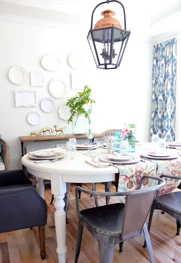 Stunning Colorful Dining Room (26)