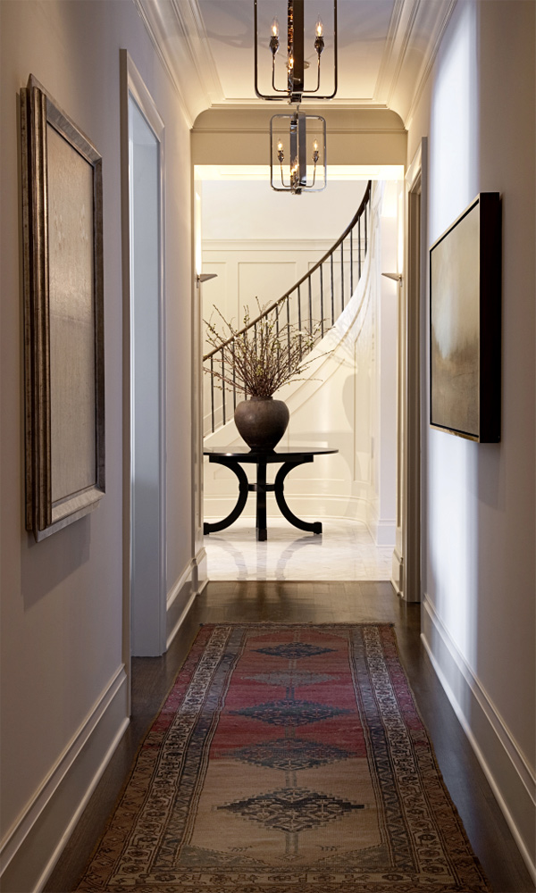 farmhouse hallway design idea