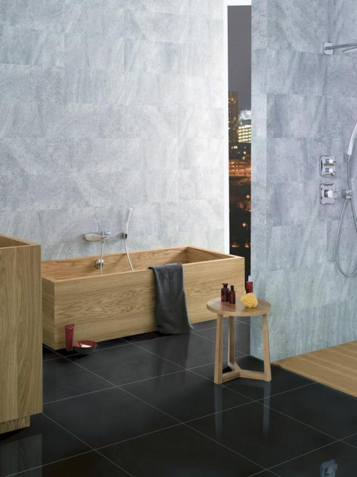 Amazing Bathrooms With Wooden Bathtub (25)