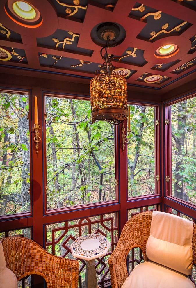 Asian Porch Design