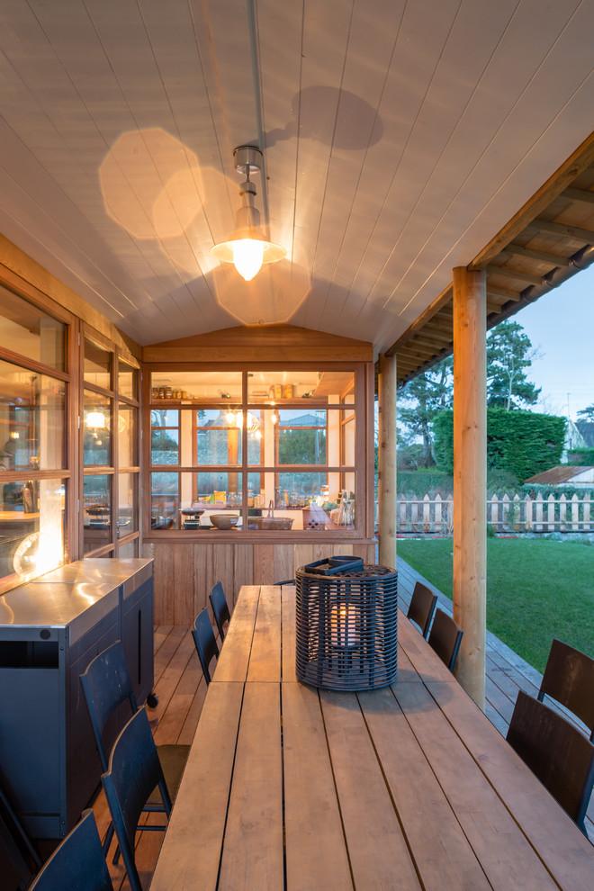 Craftsman Deck Design