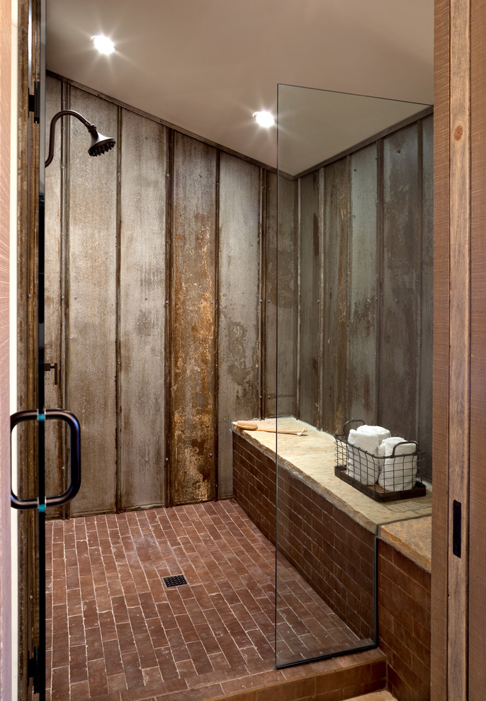 25 Amazing Walk In Shower Design Ideas on Farmhouse Shower Ideas  id=82175