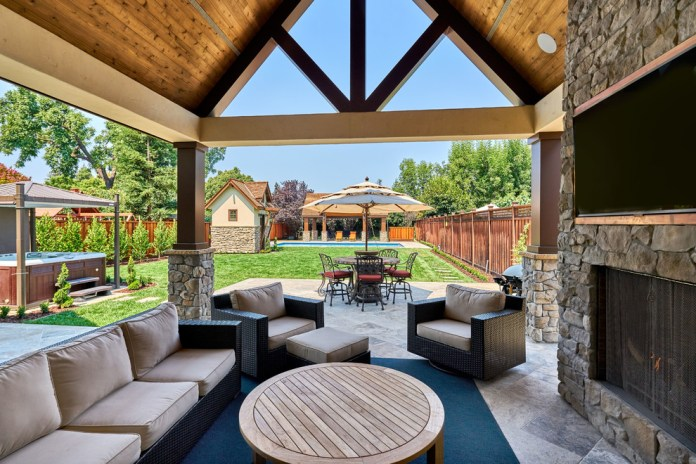 Farmhouse Patio Design