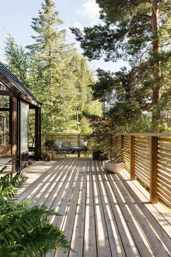 Rustic Deck Design