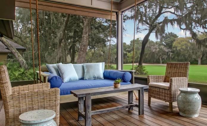 Transitional Porch Design