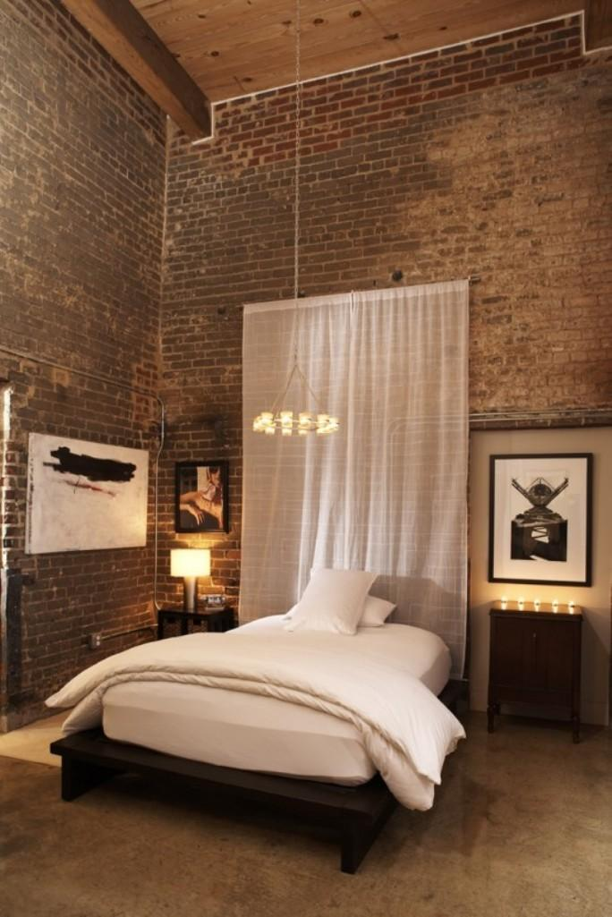 25 Amazing Bedrooms With Brick Walls on Amazing Bedroom  id=27430