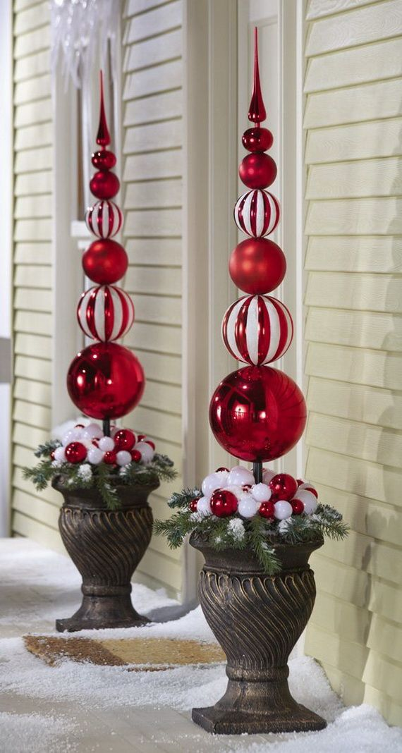 20 Best Outdoor Christmas Decorations on Lawn Decorating Ideas  id=84571