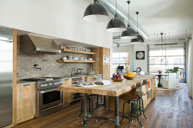 industrial-galley-open-concept-kitchen