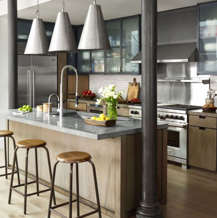 industrial-kitchen-island