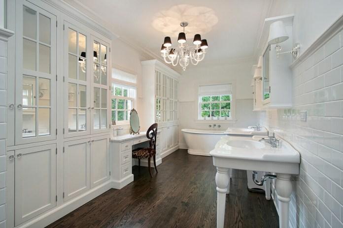 master-bathroom-with-wood-flooring