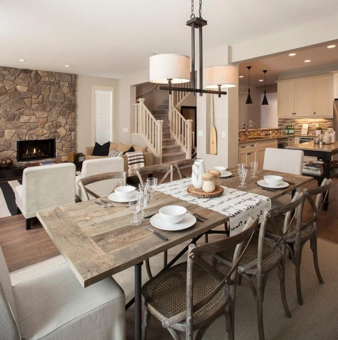 rustic-dining-room-decor-ideas