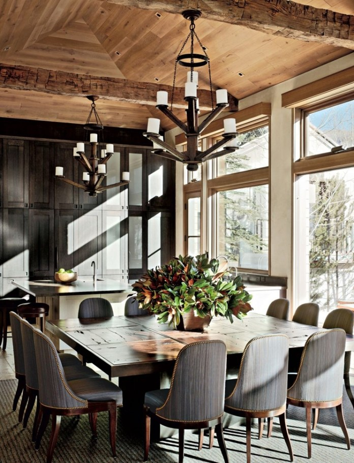 delightful-rustic-dining-room