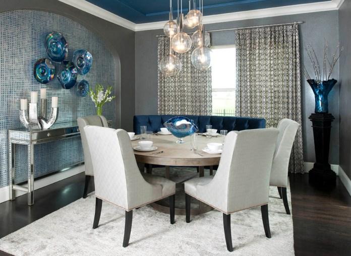 Formal Contemporary Dining Room