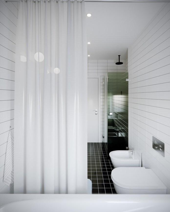 Scandinavian Kids Bathroom