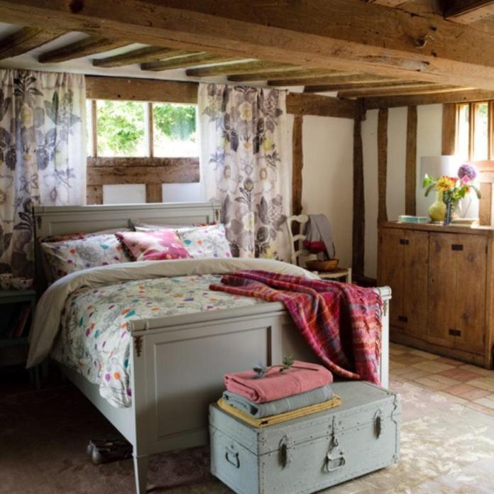 Vintage Country Bedroom