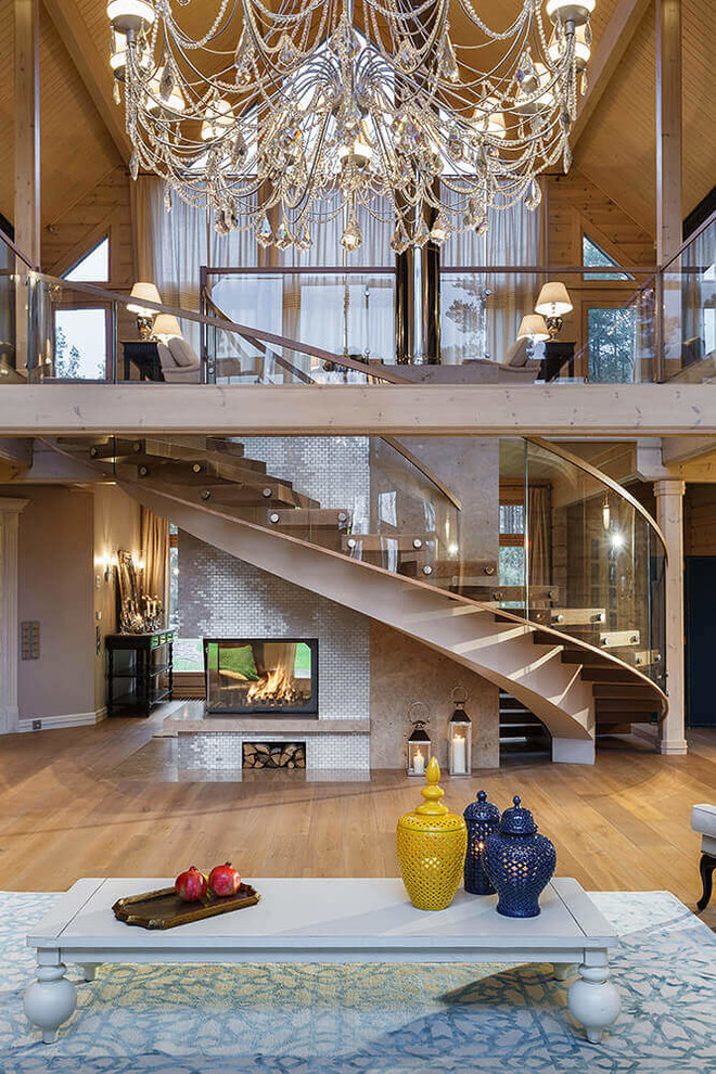 Rustic Staircase Design