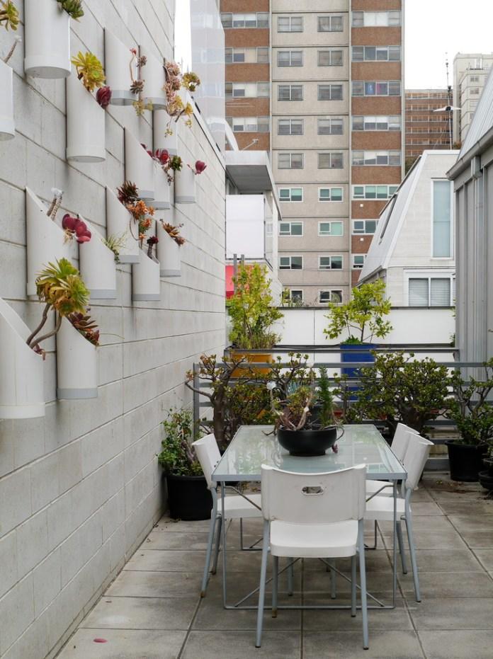 Industrial Balcony Design