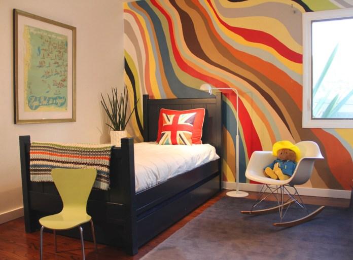 Modern Colorful Kids Bedroom
