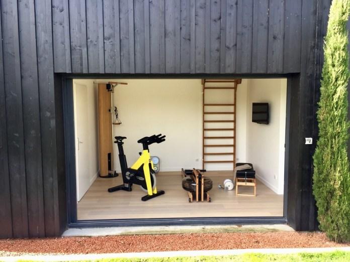 Scandinavian Home Gym Design