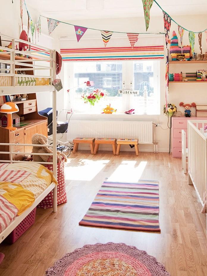 Scandinavian Kids Bedroom Design