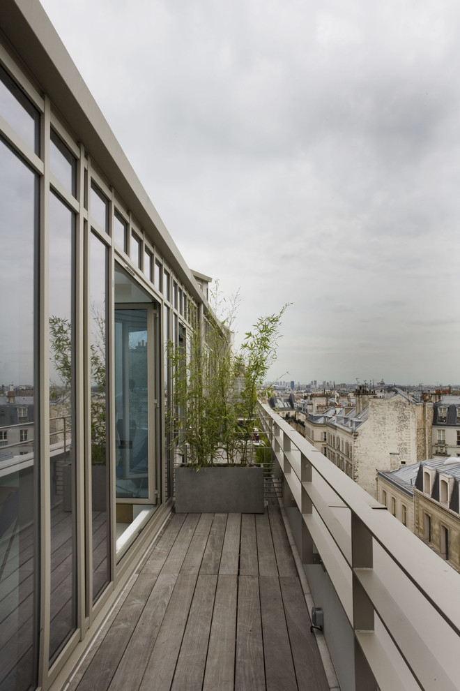 Small Industrial Balcony Design