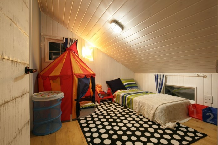 Southwestern Colorful Kids Bedroom