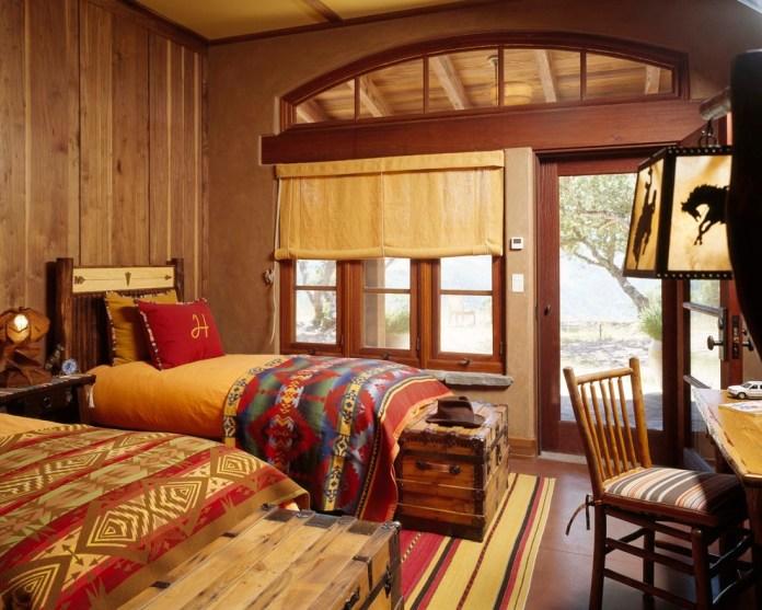 Southwestern Kids Bedroom Design