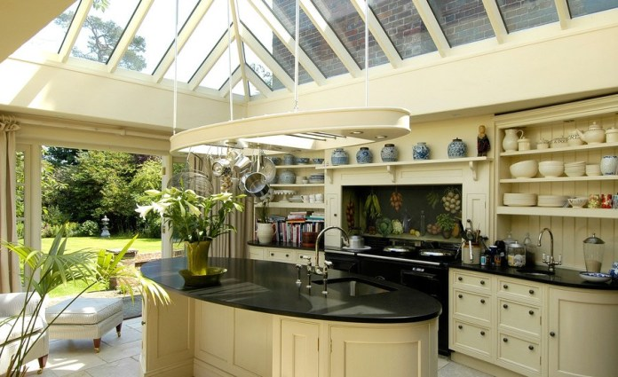 Attic Traditional Kitchen Design