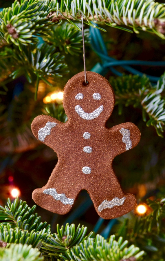 Gingerbread Man Christmas Ornaments