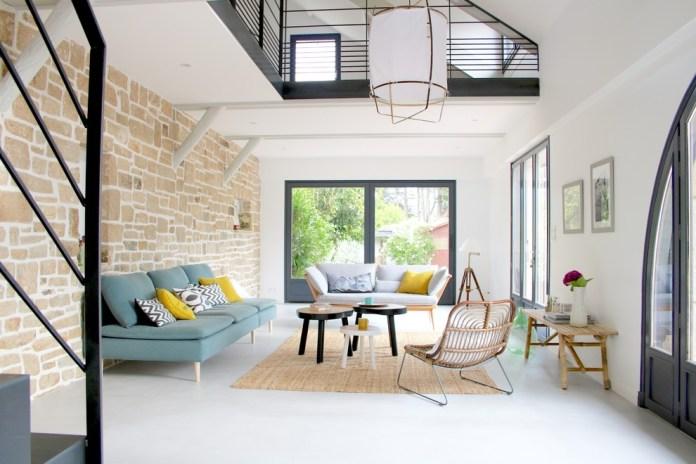 Large Scandinavian Living Room Dwellingdecor