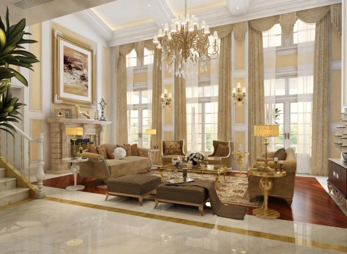 Luxury Victorian Large Living Room Dwellingdecor