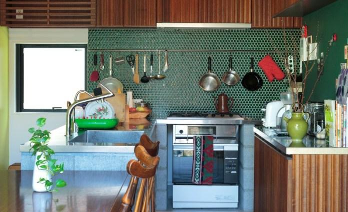 Midcentury Modern u-shaped Kitchen Dwellingdecor