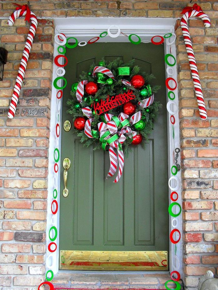Candy Cane Lane decoration dwellingdecor