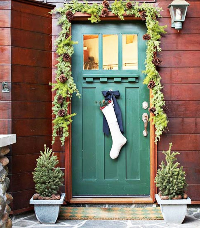 Door Hanging socks dwellingdecor