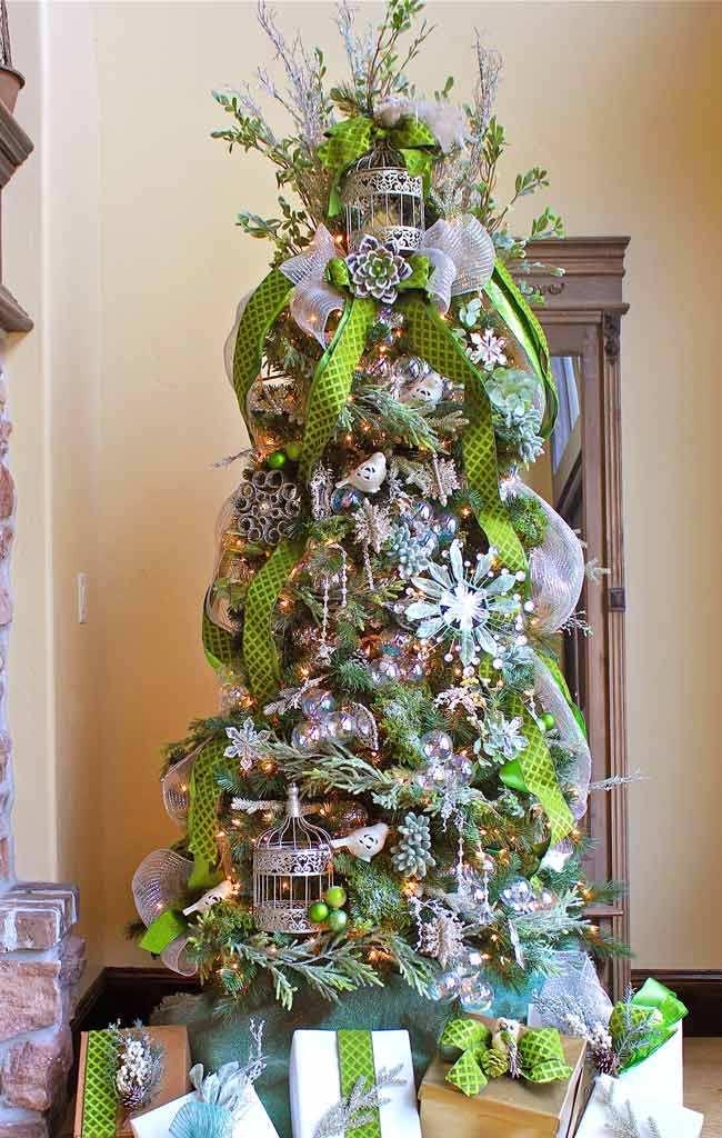 Jeweled Forest Christmas Tree dwellingdecor