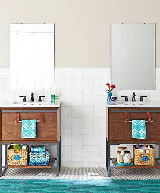 Smart Storage Ideas for Awkward Bathroom Wall Space