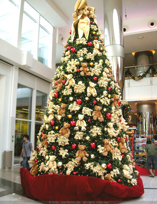Teddy Bears Christmas Tree Dwellingdecor