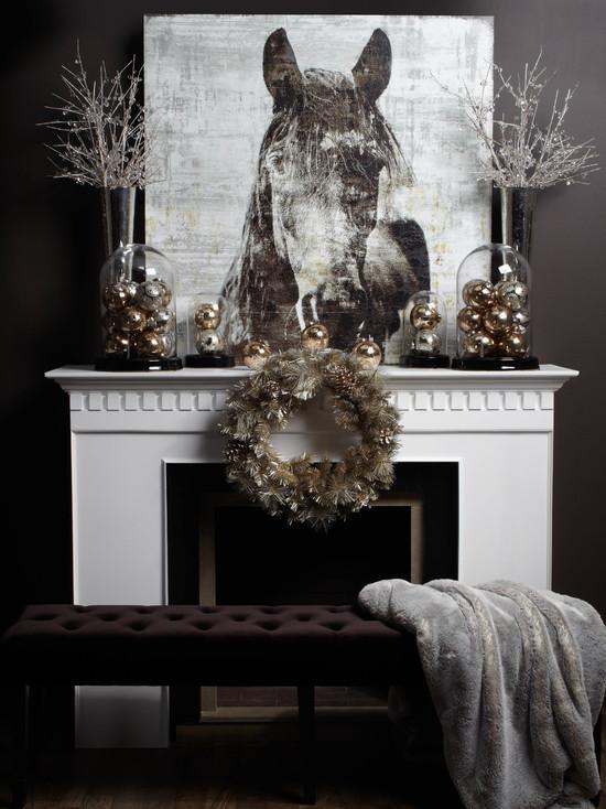 Christmas Living Room Decorations dwellingdecor (25)