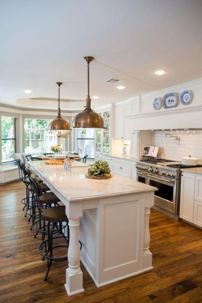 Granite Kitchen island designs with seating dwellingdecor