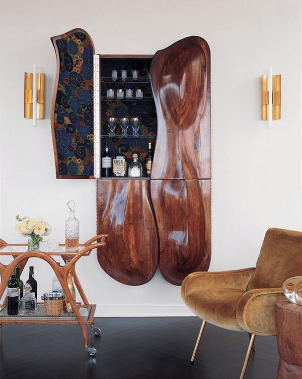 Bar Cart Designs Ideas (7)