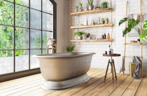 30 Chic Retro Bathrooms Design Ideas in 2021