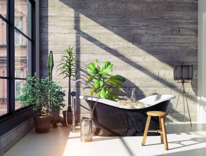 Retro Bathrooms Design (13)