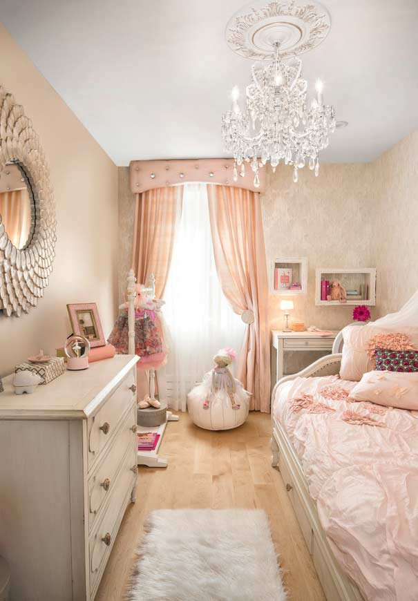 Girl's room fit for a princess