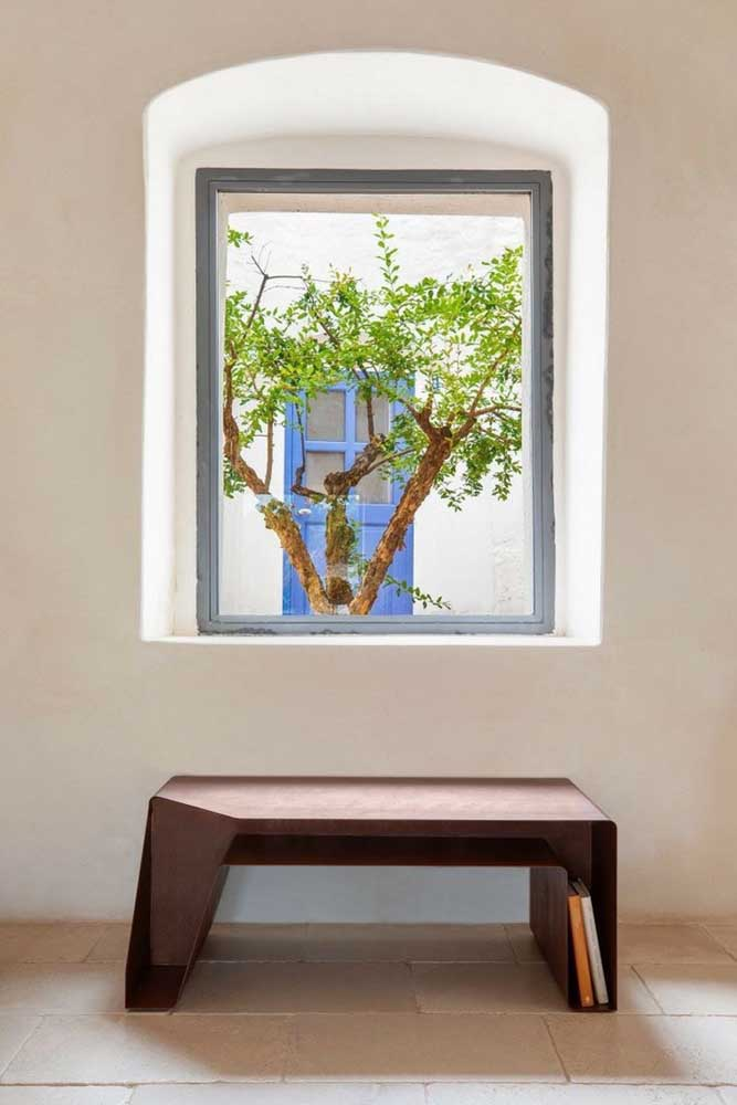 06. Corten steel can also be used in home furniture.