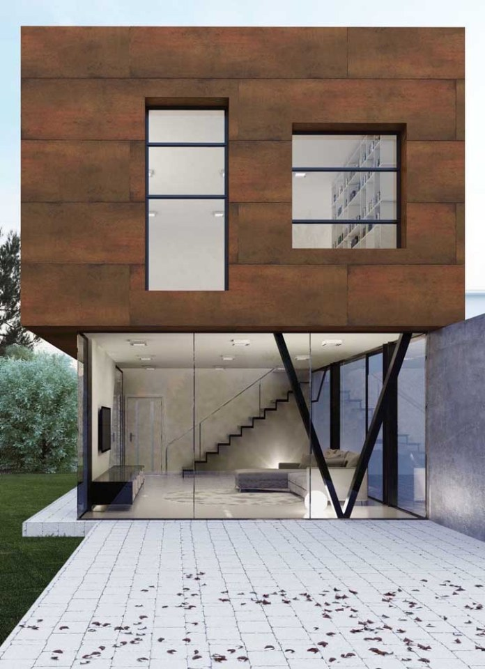 11. The corten steel facade is one of the most used applications in external decoration.