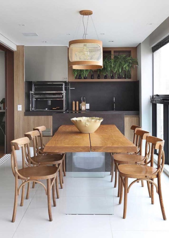 12. You choose materials that mimic the color and texture of corten steel.